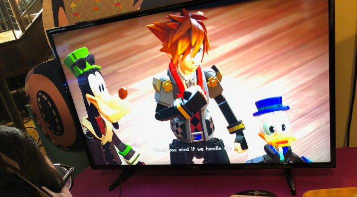 Kingdom Hearts 3 Demo Playthrough