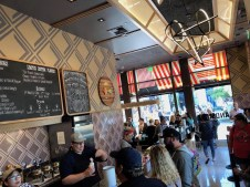 Salt & Straw Downtown Disney Disneyland Grand Opening DisneyExaminer Kim Malek Interview Interior