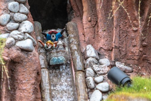 Castle Peak And Railroad Dave Sheegog Mini Disneyland Feature DisneyExaminer Splash Mountain