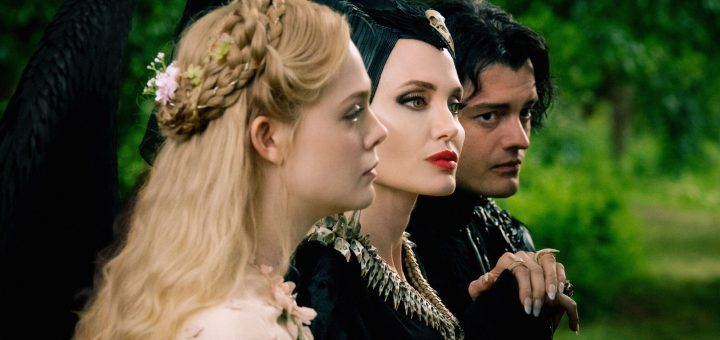 Angelina Jolie Harris Dickinson Prince Phillip Elle Fanning Aurora Maleficent: Mistress of Evil