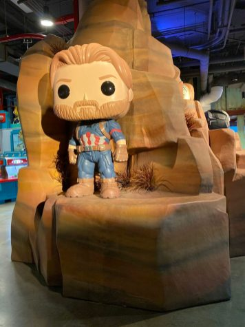 Funko Hollywood DisneyExaminer Visit Marvel Studios Captain America
