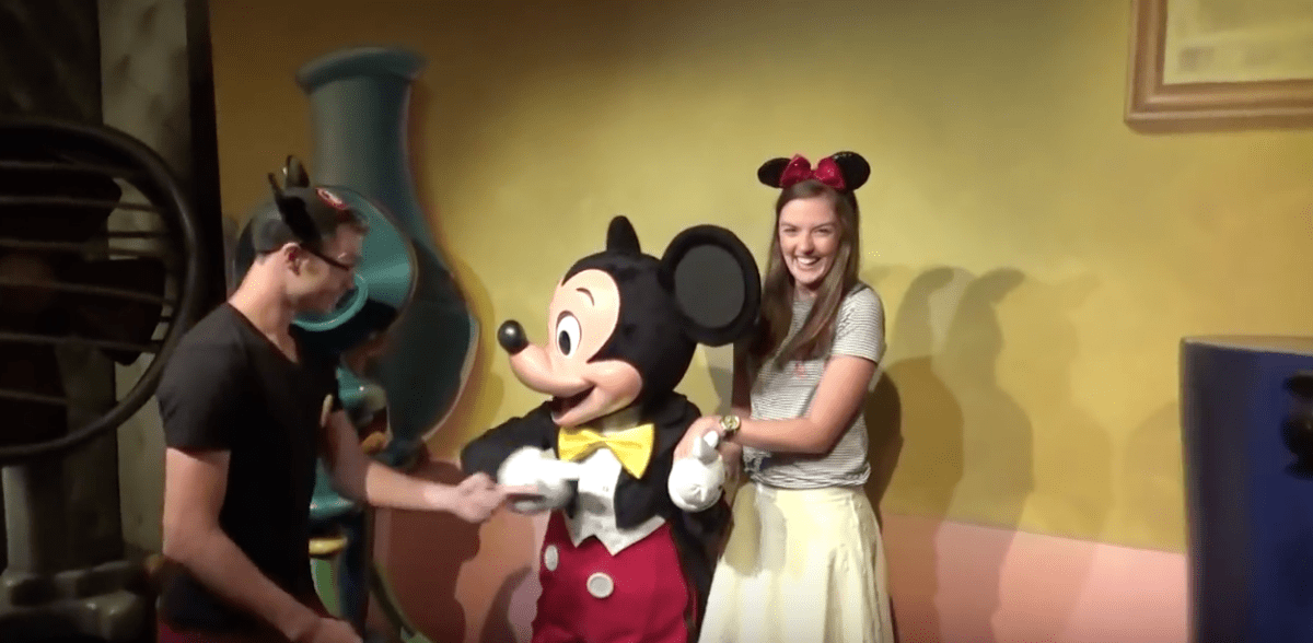 Awesome Disney Proposal with Mickey