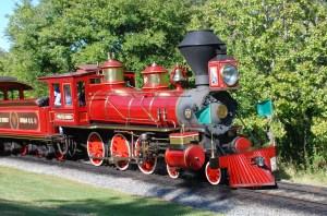 Walter_E_Disney_on_track