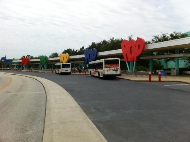 camiones a parques disney world