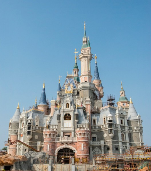 Enchanted Storybook Castle Disney Shanghai