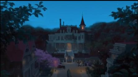 Casa de Charlotte, La Princesa y el Sapo