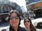 Franz y Chris Nuevo Orleans