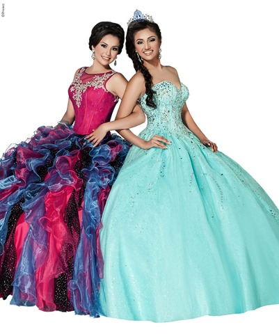 33e2279f876 2015 Disney Royal Ball Spring Quinceañera Dress Collection Revealed by  Ashdon
