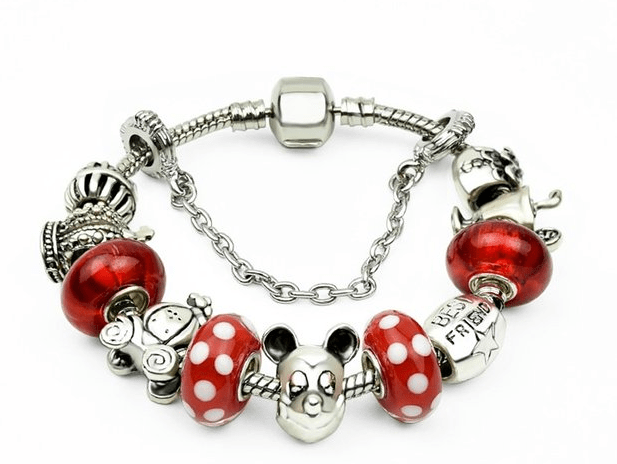 Disney Discovery Mickey Mouse Charm Bracelet