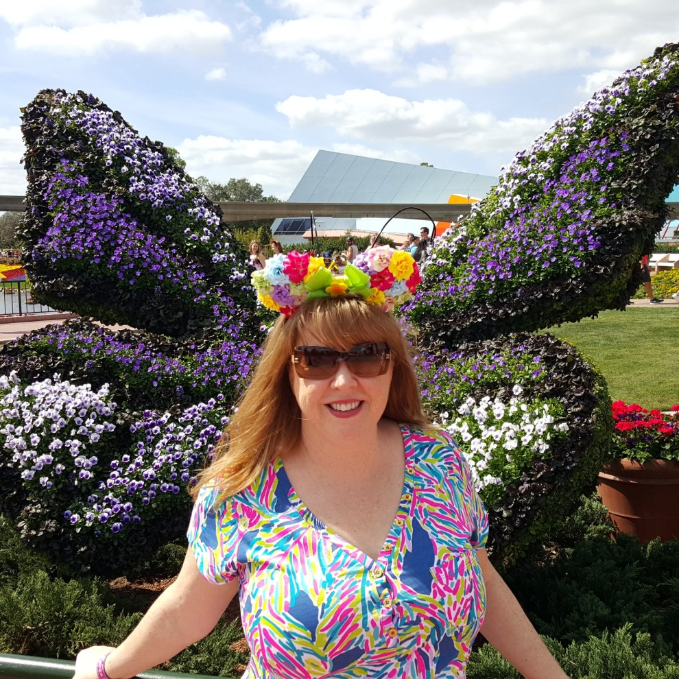 the perfect mickey ears for epcot international flower and garden