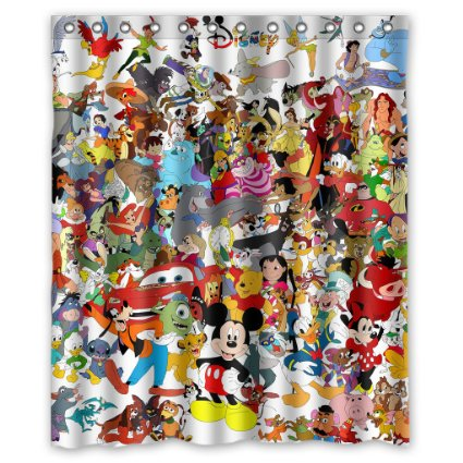 Disney Discovery Disney Character Shower Curtain