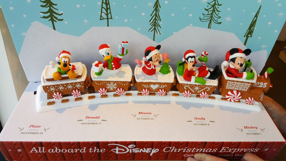 head to hallmark for the disney christmas express