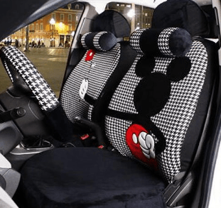 Disney Discovery Mickey Mouse Seat Covers