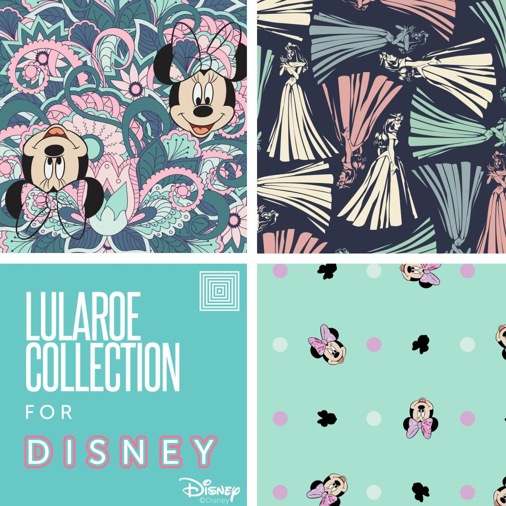 a40fefe298eb40 Taking a Closer Look at The Patterns in The First release of the LuLaRoe  Collection for Disney