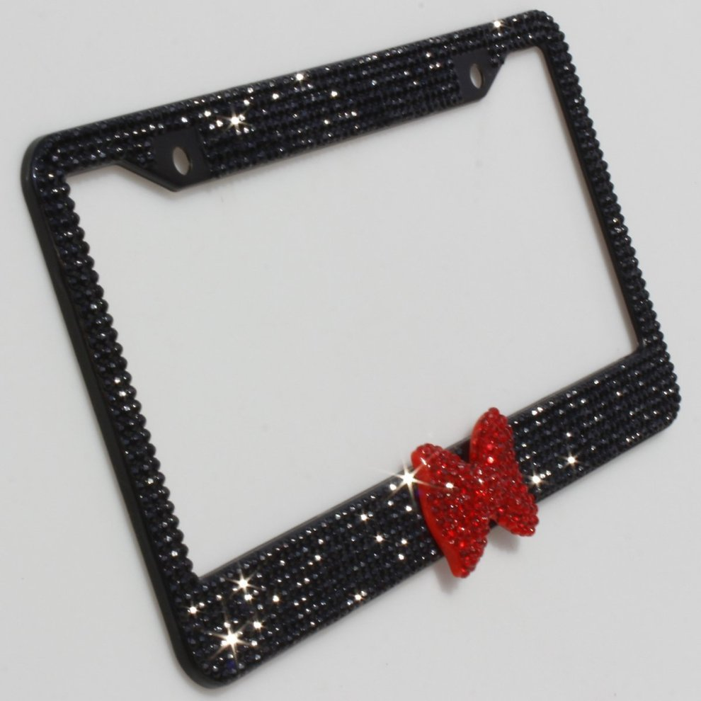Disney Discovery- Minnie Mouse Inspired License Plate Holder