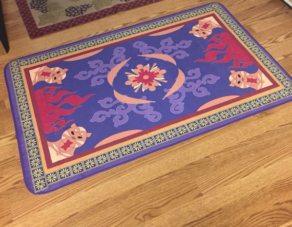 Take A Trip To Agraba With This Aladdin Inspired Carpet
