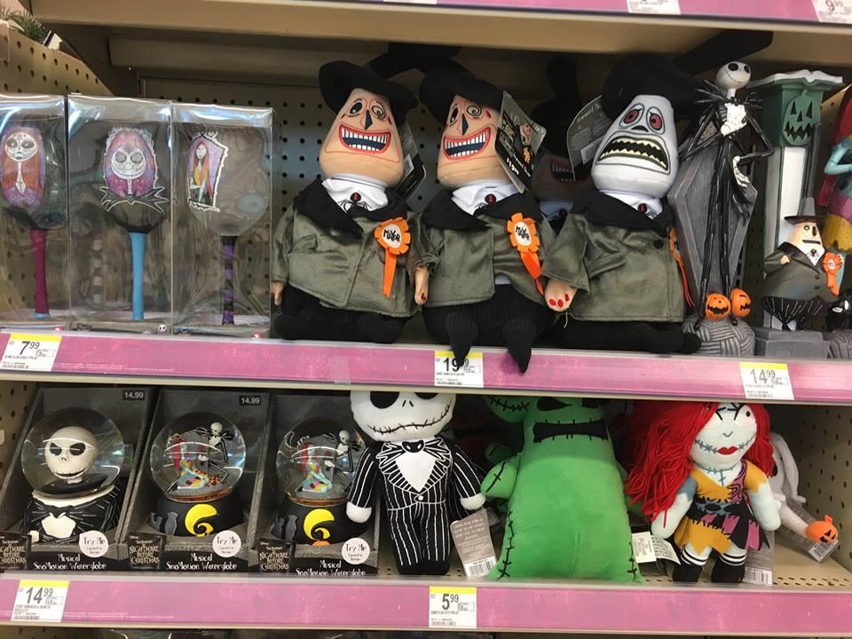 new the nightmare before christmas merchandise at walgreens - Nightmare Before Christmas Clothing