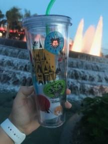 Disney Parks Themed Starbucks Tumbler