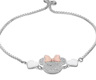 Minnie Mouse Bolo Bracelet