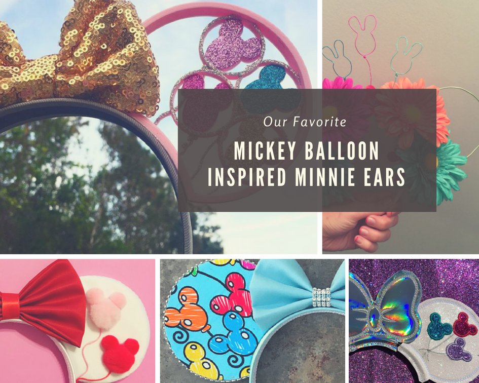 Mickey Balloon Inspired Minnie Ears