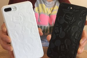 Leather Mickey Mouse iPhone Covers