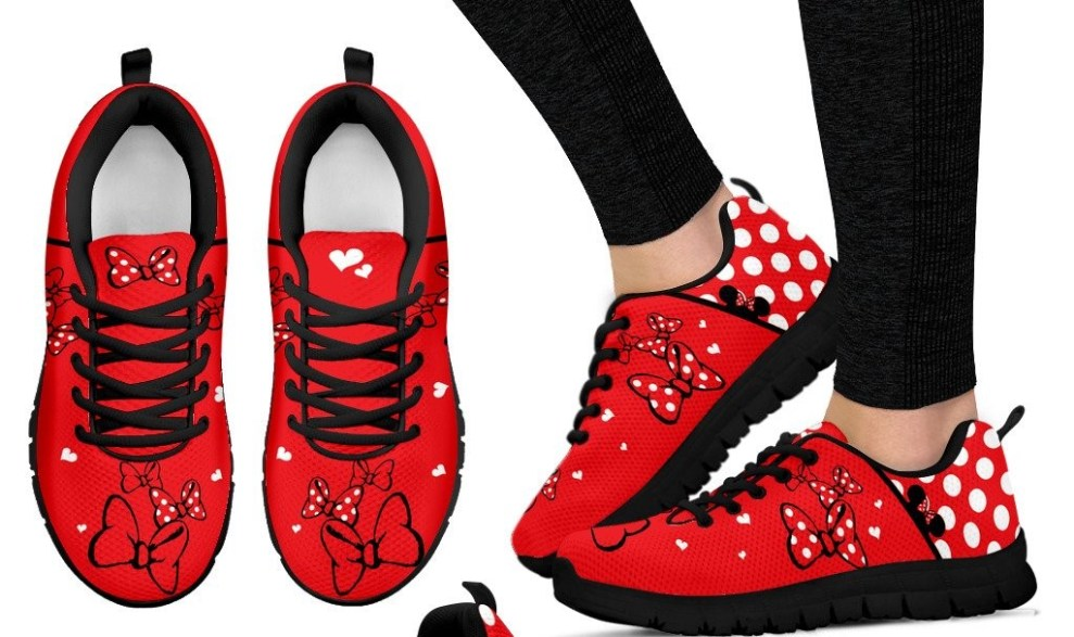 Sweetheart Minnie Mouse Sneakers