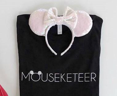 Minimalist Mouseketeer Tee