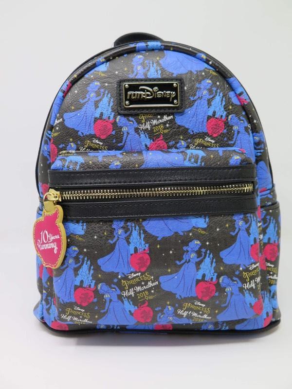 783a1b03bd9 New Disney Princess Half Marathon Mini Backpack 10TH Anniversary by  Loungefly