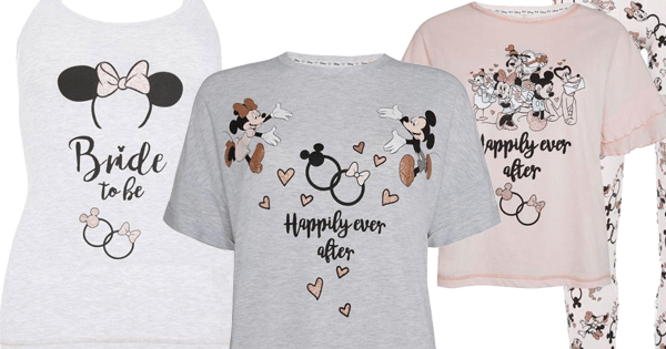 745a19ee31 Absolutely Darling Disney Bridal Pajamas from Primark