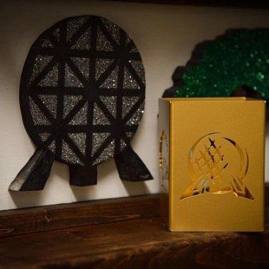 Walt Disney World Parks Inspired Candle Holder