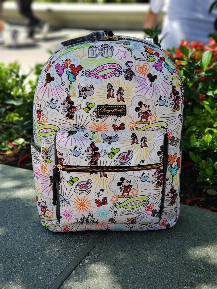 abffd1c05e New Disney Sketch Backpack From Dooney   Bourke