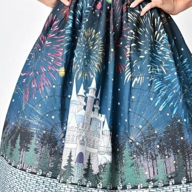 Light-Up Castle Fireworks Skirt