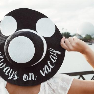 Mickey Inspired Straw Hats