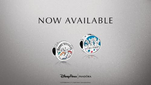 Disney Celebration Pandora Charms