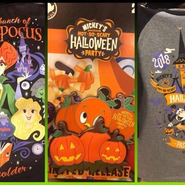 Spooky Annual Passholder Merchandise