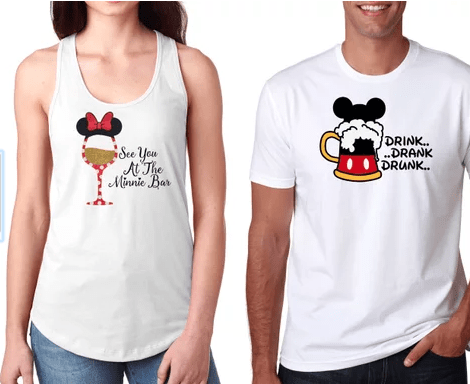 2b4ecc7f3b Mickey and Minnie are the ultimate couple so it should be no surprise to  see a Mickey and Minnie couples set. Minnie Mouse is my fashion icon so  this set of ...