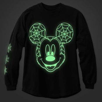 812131d5f32 Glow-In-The-Dark Halloween Mickey Spirit Jersey