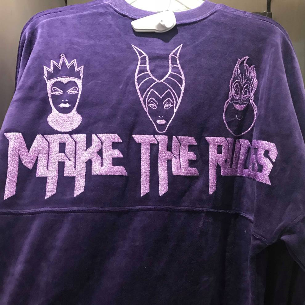 0c387f68a New Disney Villains Spirit Jersey Spotted at The Disney Store