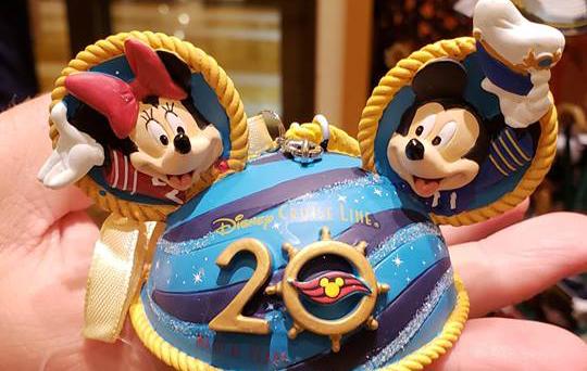 Disney Cruise Line 20th Anniversary Merchandise