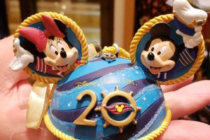 Disney Cruise Line 20th Anniversary Merchandise