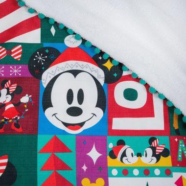 Disney Holiday Fleece Throw