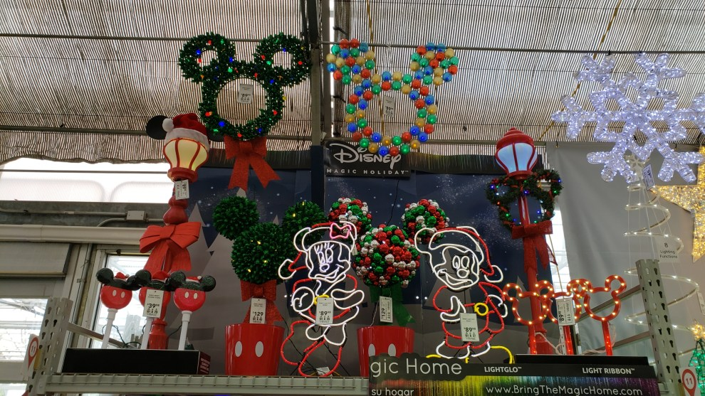 the disney magic holiday collection at lowes is bigger and better for its third year