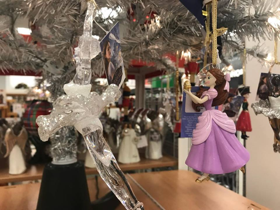 disney nutcracker christmas ornaments