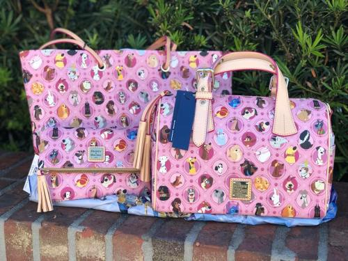 Pink Disney Dogs Dooney