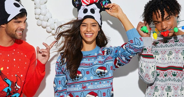 Light-Up Disney Holiday Sweaters