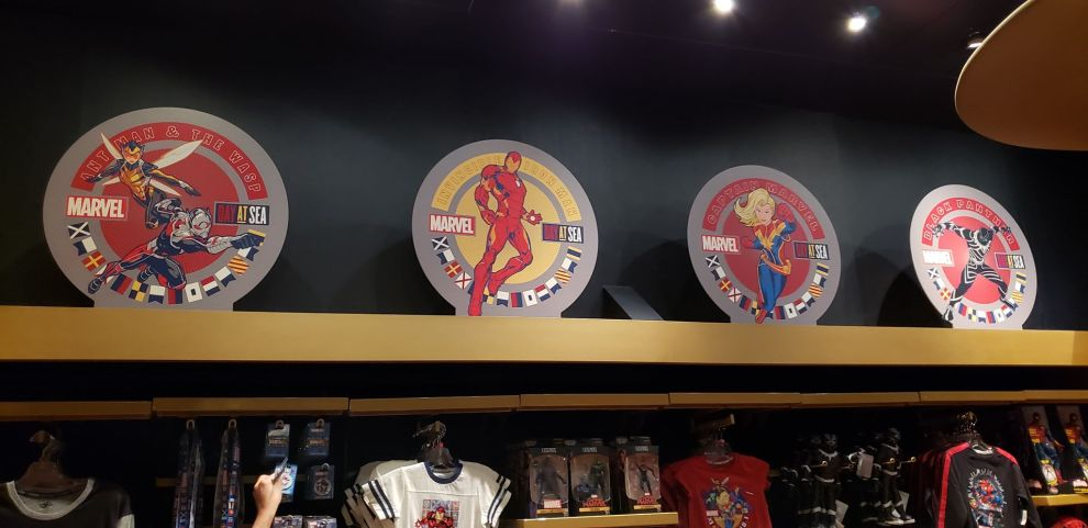 Marvel Day At Sea Merchandise
