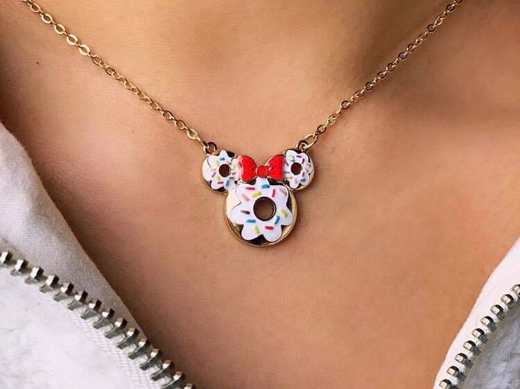 Disney Donut Necklace