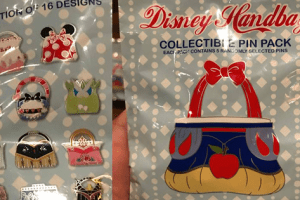 Disney Handbag Collectible Pin Series