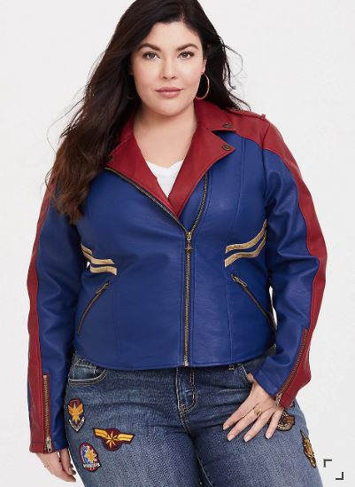 436252eadab Torrid Just Launched a Captain Marvel Collection Worthy of Any Super Hero