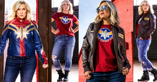 Her Universe x Captain Marvel Collection
